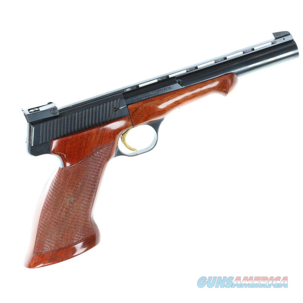 Pre-owned Browning Medalist Built 1972 In Box W/Weights Super Minty - cons45232t72  Guns > Pistols > Browning Pistols > Other Autos