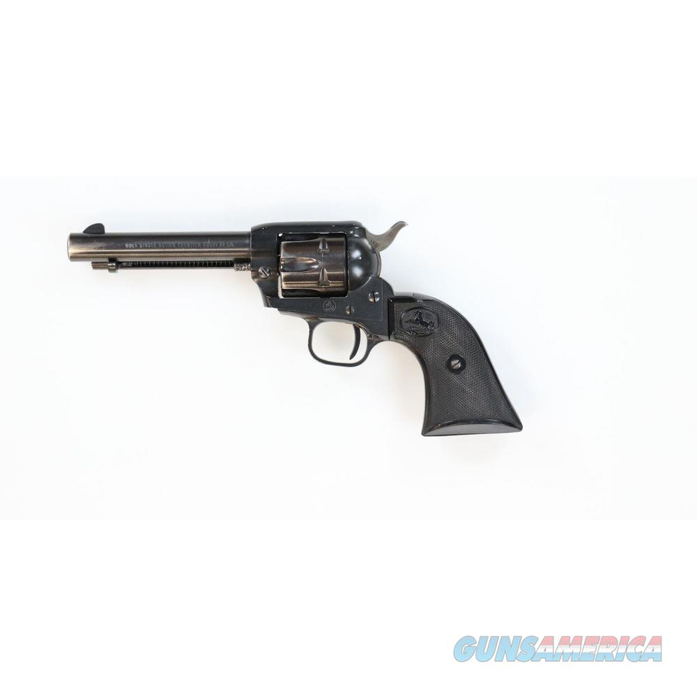 Pre-owned 1962 Colt Frontier Scout .22lr F Suffix - cons158054f  Guns > Pistols > Colt Single Action Revolvers - Modern (22 Cal.)
