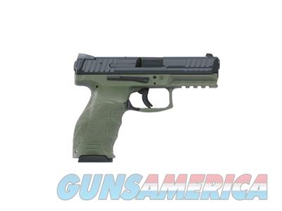HK VP9 V1 9mm Striker Fired Pistol with 2-15 Round Magazines OD Green  Guns > Pistols > Heckler & Koch Pistols > Polymer Frame