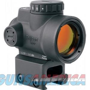 Trijicon MRO 2 MOA Adjustable Red Dot with Full Cowitness Mount 2200005  Non-Guns > Scopes/Mounts/Rings & Optics > Tactical Scopes > Red Dot