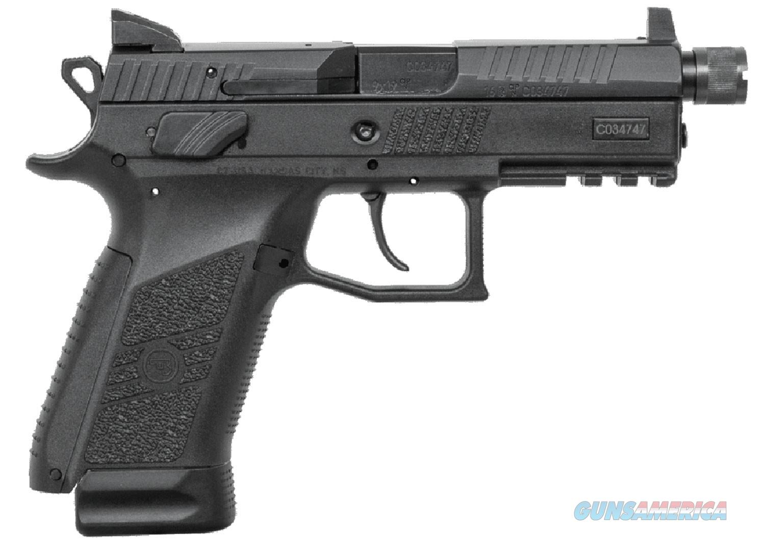 CZ-USA CZ P-07 9mm 17+1 Black Suppressor-Ready Pistol  Guns > Pistols > CZ Pistols