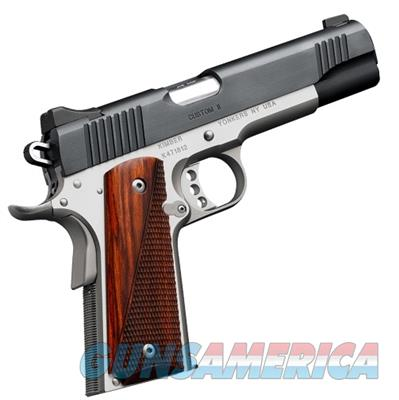 Kimber America Custom II Two Tone 9mm 1911 Handgun 3200334 669278323343  Guns > Pistols > Kimber of America Pistols > 1911