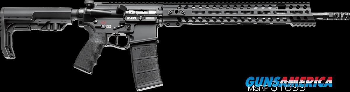 "POF USA Edge Gen 4 AR-10 .308 Rifle Black Finish, Minimalist 16.5"" Barrel Length  Guns > Rifles > Patriot Ordnance Factory - POF USA > Complete Rifles"
