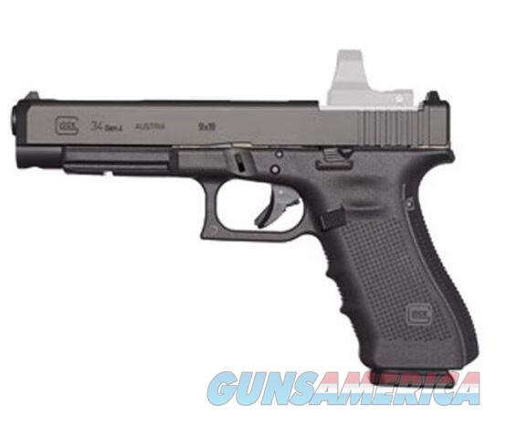 Glock G34 Gen 4 Competition MOS 9mm UG3430103MOS    764503913808  Guns > Pistols > Glock Pistols > 34