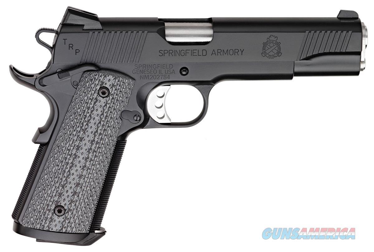 PC9108L18 SPRINGFIELD 1911 TRP SERVICE 45ACP BLACK ARMORY KOTE SLIDE/FRAME G10 GRIP 7rd MAG  Guns > Pistols > Springfield Armory Pistols > 1911 Type