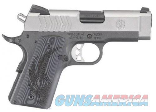 Ruger SR1911 Lightweight Officer 9mm 6758-RGR  Guns > Pistols > Ruger Semi-Auto Pistols > 1911