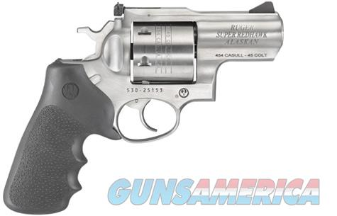Ruger 05301 Super Redhawk Alaskan Revolver .454 Casull 2.5in 6rd Stainless  Guns > Pistols > Ruger Double Action Revolver > Redhawk Type