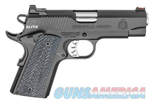 "Springfield Armory PI9125E Range Officer Elite Compact 9mm 4"" Stainless Match Grade Pistol PI9125E  706397915308  Guns > Pistols > Springfield Armory Pistols > 1911 Type"