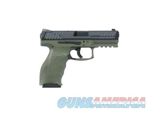 HK VP9 V1 9mm Striker Fired Pistol with 2-15 Round Magazines OD Green M700009GR-A5 642230256323  Guns > Pistols > Heckler & Koch Pistols > Polymer Frame