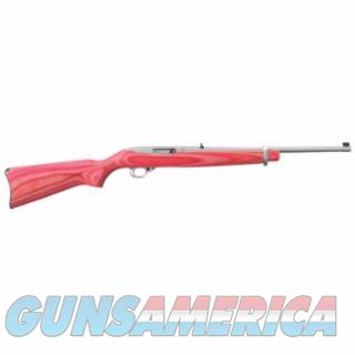 RUGER K10/22RBPZ PINK/SS LAM *USC EXCLUSIVE* 22LR 1185 736676011858  Guns > Rifles > Ruger Rifles > 10-22