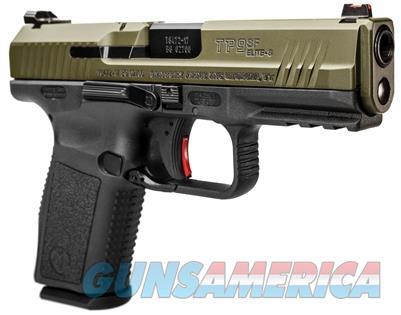 CIA HG3899GN CANIK TP9SF ELITE S 9MM OD GREEN HG3899GN 787450431621  Guns > Pistols > Century International Arms - Pistols > Pistols