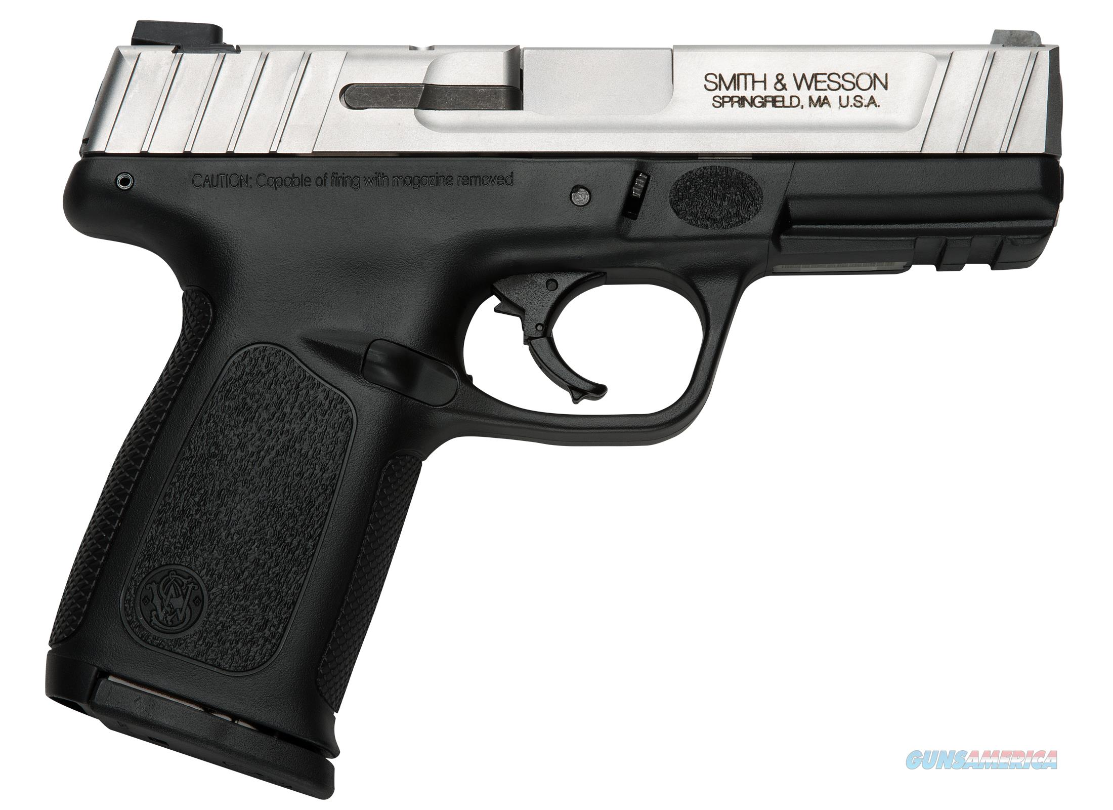 Smith and Wesson SD9VE 9mm Striker 17 Round Pistol - 223900  Guns > Pistols > Smith & Wesson Pistols - Autos > Polymer Frame