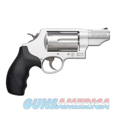 S&W Governor .410/.45 Colt/.45 ACP Revolver Silver Edition with Sandium Frame 160410  022188604108  Guns > Pistols > Smith & Wesson Revolvers > Full Frame Revolver