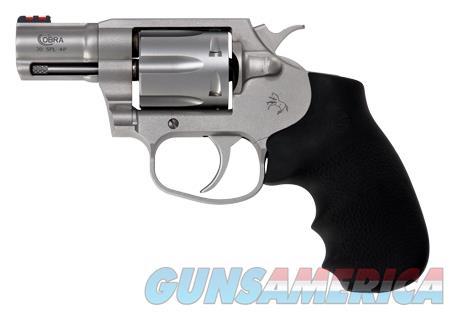 Colt COBRASM2FO Cobra 38 Spl+P Double 2? 6 Hogue Overmolded Stainless Steel  Guns > Pistols > Colt Double Action Revolvers- Modern