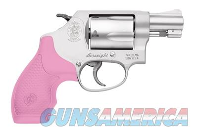 Smith & Wesson Model 637 .38 SPL 1.875in 5rd Stainless Pink 150467  022188136517  Guns > Pistols > Smith & Wesson Revolvers > Small Frame ( J )