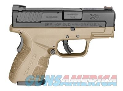 "Springfield Armory XD Mod.2 9mm 3"" SubCompact FDE Pistol  XDG9801FDEHC  706397905125  Guns > Pistols > Springfield Armory Pistols > XD-Mod.2"