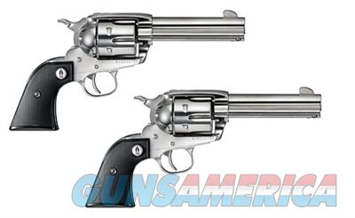 SASS Ruger Vaquero .357 Magnum Single Action Revolvers - Matched Set - 5133  Guns > Pistols > Ruger Single Action Revolvers > Cowboy Action