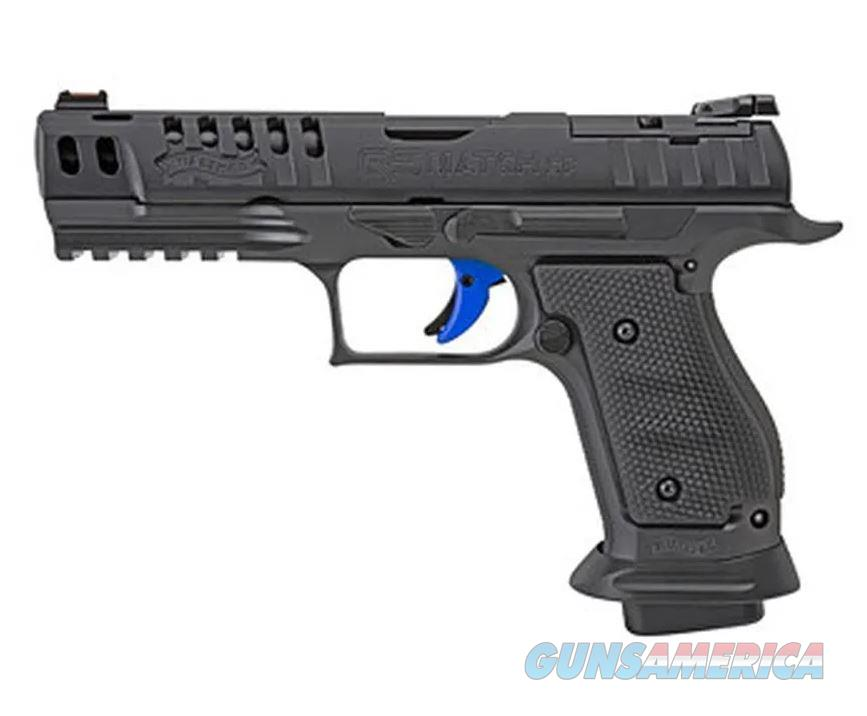 Walther USA 2830418 PPQ M2 Q5 Match SF Pro 9mm SA/DA 17rd 5in  Guns > Pistols > Walther Pistols > Post WWII > P99/PPQ