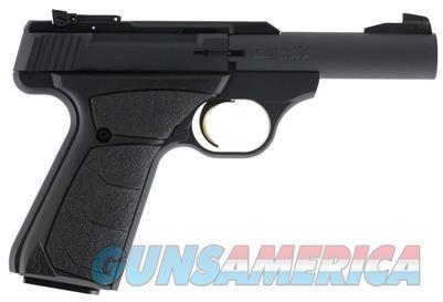 "Browning Buck Mark Micro Bull Single 22 Long Rifle 4"" 10+1 Black Ultragrip FX Grip Black Aluminum Alloy 051537490  023614735328   Guns > Pistols > Browning Pistols > Buckmark"