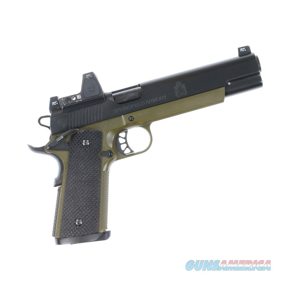 Pre-owned Springfield Armory TRP 10mm RMR Longslide Pistol - usednm562222  Guns > Pistols > Springfield Armory Pistols > 1911 Type
