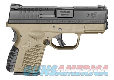 "Springfield Armory XDS 3.3"" 9mm FDE Pistol XDS9339DEE 706397900199  Guns > Pistols > Springfield Armory Pistols > XD-S"
