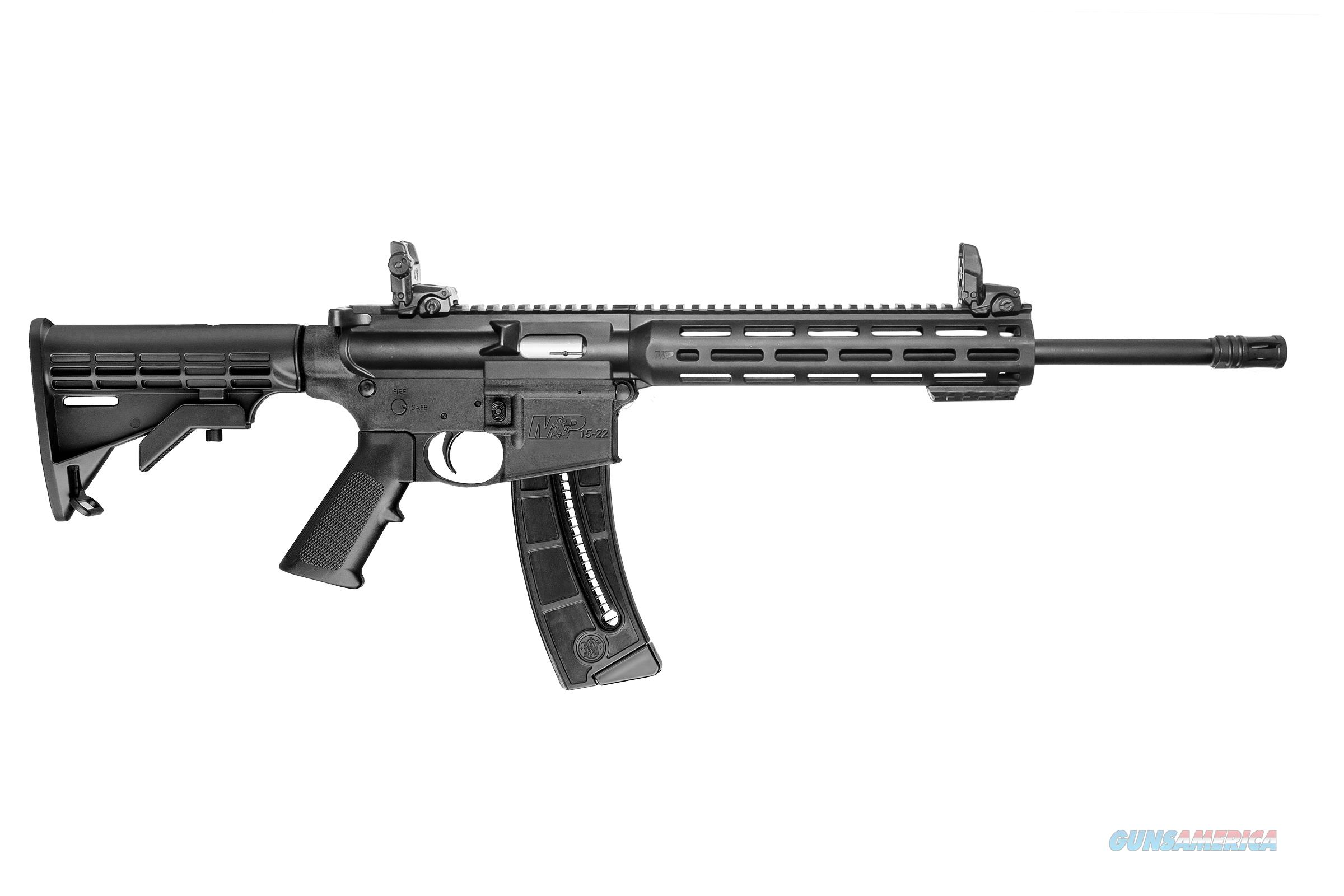 Smith and Wesson M&P15-22 Sport .22 LR Semi-Auto AR Style Rifle 10208 022188868203  Guns > Rifles > Smith & Wesson Rifles > M&P