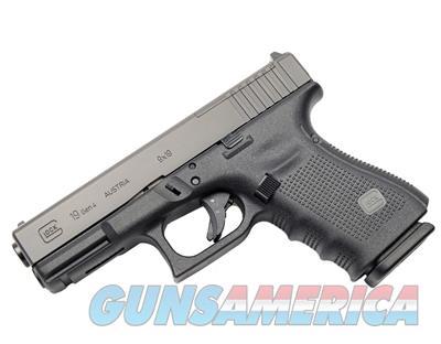 PG1950203MOS GLOCK 19 MOS 9mm Modular Optic System 15+1 Pistol  Guns > Pistols > Glock Pistols > 19/19X