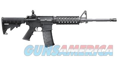 Smith & Wesson M&P-15X 5.56mm Semi-Auto Rifle with Troy Short Quad and Battle Sights (LEO Only) 311008 022188136050  Guns > Rifles > Smith & Wesson Rifles > M&P