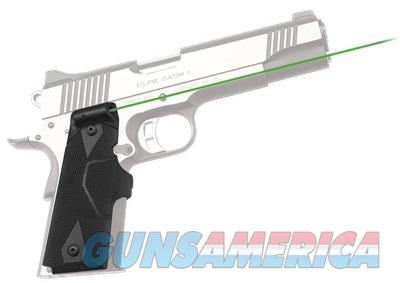 Crimson Trace Lasergrips (Green) LG-401G for 1911 LG-401G 610242004812  Non-Guns > Gun Parts > Grips > 1911
