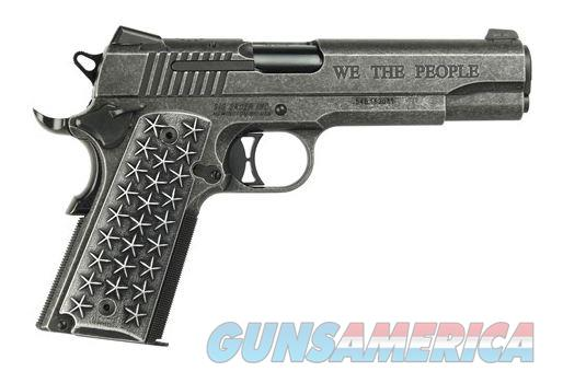 """SIG SAUER 1911 """"We the People"""" 45ACP 5"""" Stainless Steel Distressed 7rd Night Sights 1911T-45-WTP   798681576364  Guns > Pistols > Sig - Sauer/Sigarms Pistols > 1911"""