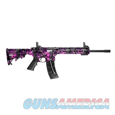 Smith and Wesson M&P15-22 Sport .22 LR Semi-Auto AR Style Rifle Muddy Girl Camo 10212 022188868388  Guns > Rifles > Smith & Wesson Rifles > M&P