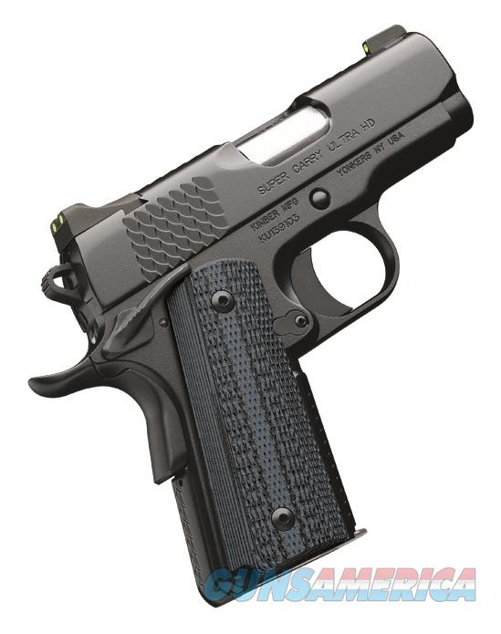 Kimber America Super Carry Ultra HD .45 ACP 1911 Handgun 3000266 669278302669  Guns > Pistols > Kimber of America Pistols