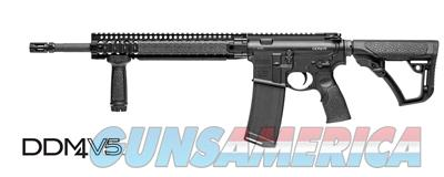 Daniel Defense DDM4V5 5.56x45mm NATO/.223 Rem AR-15 Style Rifle 02-123-16029-047 815604015509 M4 V5  Guns > Rifles > Daniel Defense > Complete Rifles