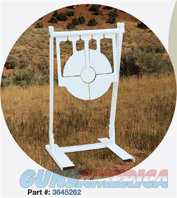 American Security Portable Gravity Spinning Bullseye 3645262  Non-Guns > Targets > Steel Targets > Rifle