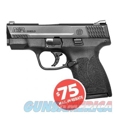 Smith and Wesson M&P45 Shield .45 ACP 6+1 Compact Pistol No Thumb Safety 11531 022188868135  Guns > Pistols > Smith & Wesson Pistols - Autos > Shield