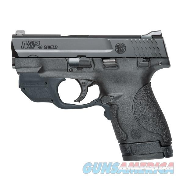Smith and Wesson M&P40 Shield Compact Handgun with Crimson Trace Green Laser Laserguard 10147  Guns > Pistols > Smith & Wesson Pistols - Autos > Shield