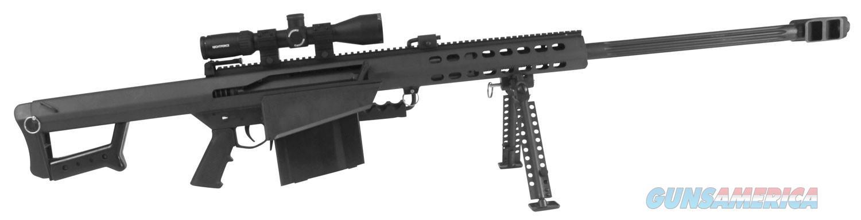 "Barrett 17291 82A1 Rifle System, .50BMG, 29"" Barrel, Nightforce SHV 3-10x42 Scope w/Barrett High Rings   17291     816715017772  Guns > Rifles > Barrett Rifles"