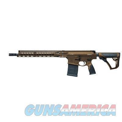 "Daniel Defense DD5V2 MilSpec+ Brown AR-10 .308 Win/7.62 NATO 16"" Rifle 02-150-07186-047  815604018531  Guns > Rifles > Daniel Defense > Complete Rifles"