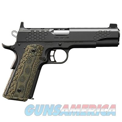 3000360: Kimber KHX (OR) Custom Pistol - 45 ACP, 5 in Barrel, Stainless Steel Frame, Steel Slide, 8 Rd  Guns > Pistols > Kimber of America Pistols > 1911