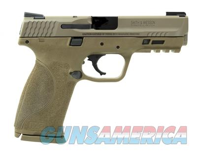 Smith & Wesson S&W M&P M2.0 9mm 4.25in 17rd FDE NS TRUGLO TFX SIGHTS  11767  022188871159  Guns > Pistols > Smith & Wesson Pistols - Autos > Polymer Frame