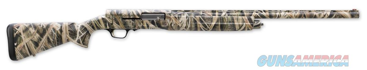 "Browning A5 Semi-Auto 12 Gauge Shotgun in Mossy Oak Shadow Grass Blades Pattern, 28"" Barrel 0118182004 023614398189  Guns > Shotguns > Browning Shotguns > Autoloaders > Hunting"