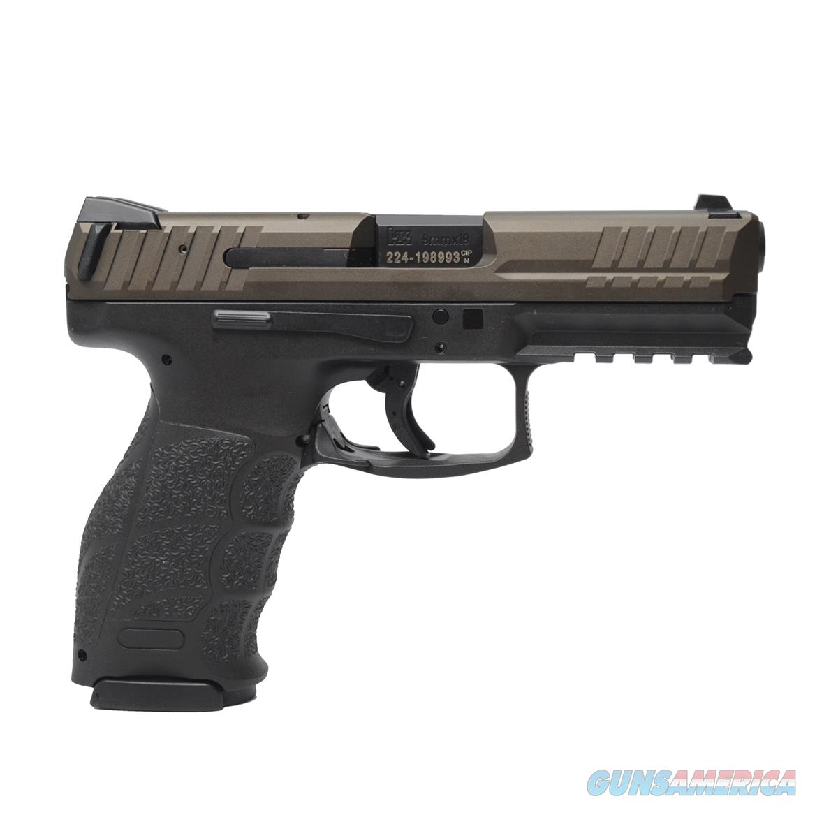 H&K VP9 9mm 15+1 Pistol with Night Sights and 3-15 round magazines 81000139 642230256897  Guns > Pistols > Heckler & Koch Pistols > Polymer Frame