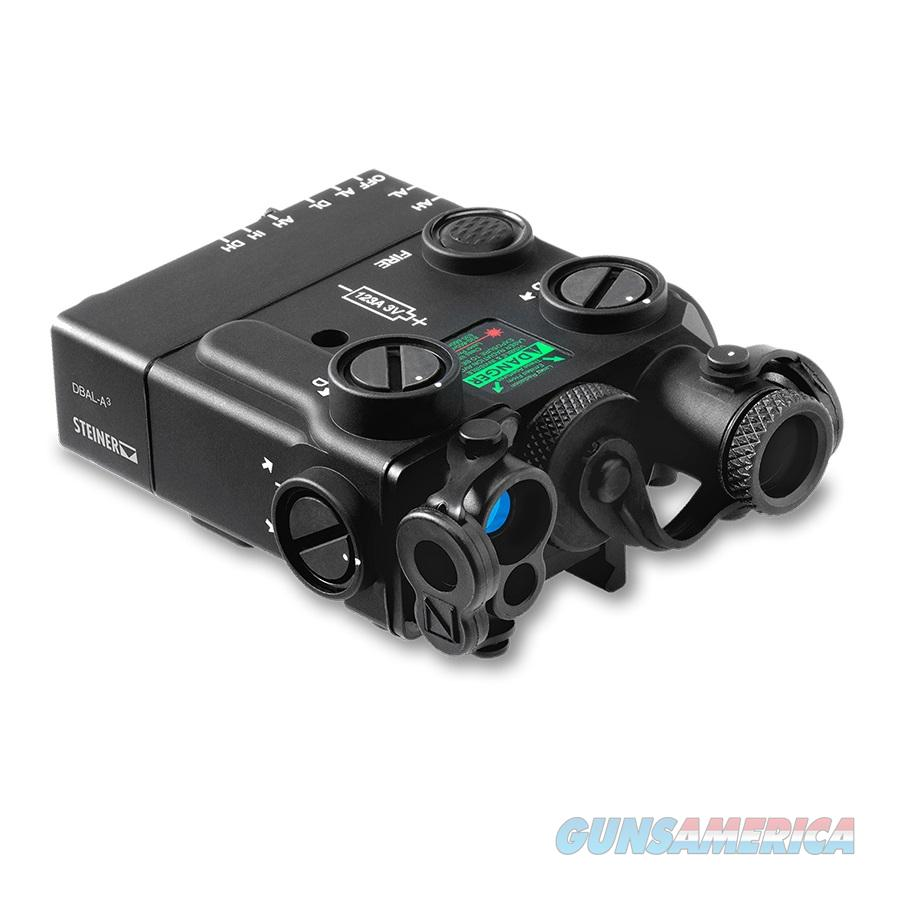 Steiner DBAL-A3 Civilian Dual Beam Aiming Laser - Advanced 3 Black Offset Laser 9008  Non-Guns > Scopes/Mounts/Rings & Optics > Non-Scope Optics > Other