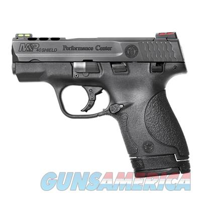 Smith and Wesson M&P40 Shield Performance Center Ported .40 S&W Pistol 10109-SW 022188867183  Guns > Pistols > Smith & Wesson Pistols - Autos > Polymer Frame