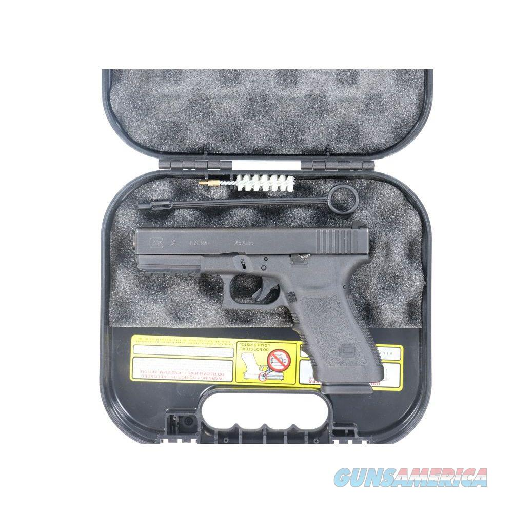 Pre-Owned Glock 21SF 45acp 1913 PICATINNY RAIL RARE - USEDNHN224  Guns > Pistols > Glock Pistols > 20/21