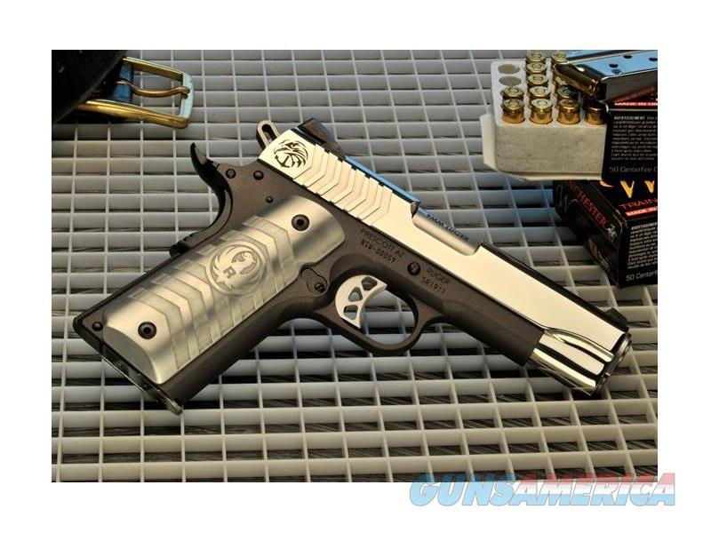 RUGER SR1911 NAVY SPECIAL WARFARE PISTOL 9MM 6743  Guns > Pistols > Ruger Semi-Auto Pistols > 1911