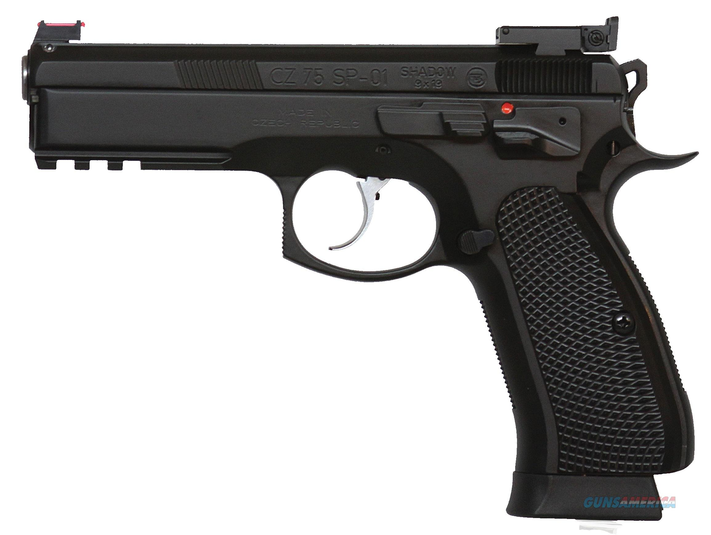CZ-USA CZ 75 SP-01 Shadow Target II 9mm CZ Custom Competition Pistol 91760  Guns > Pistols > CZ Pistols
