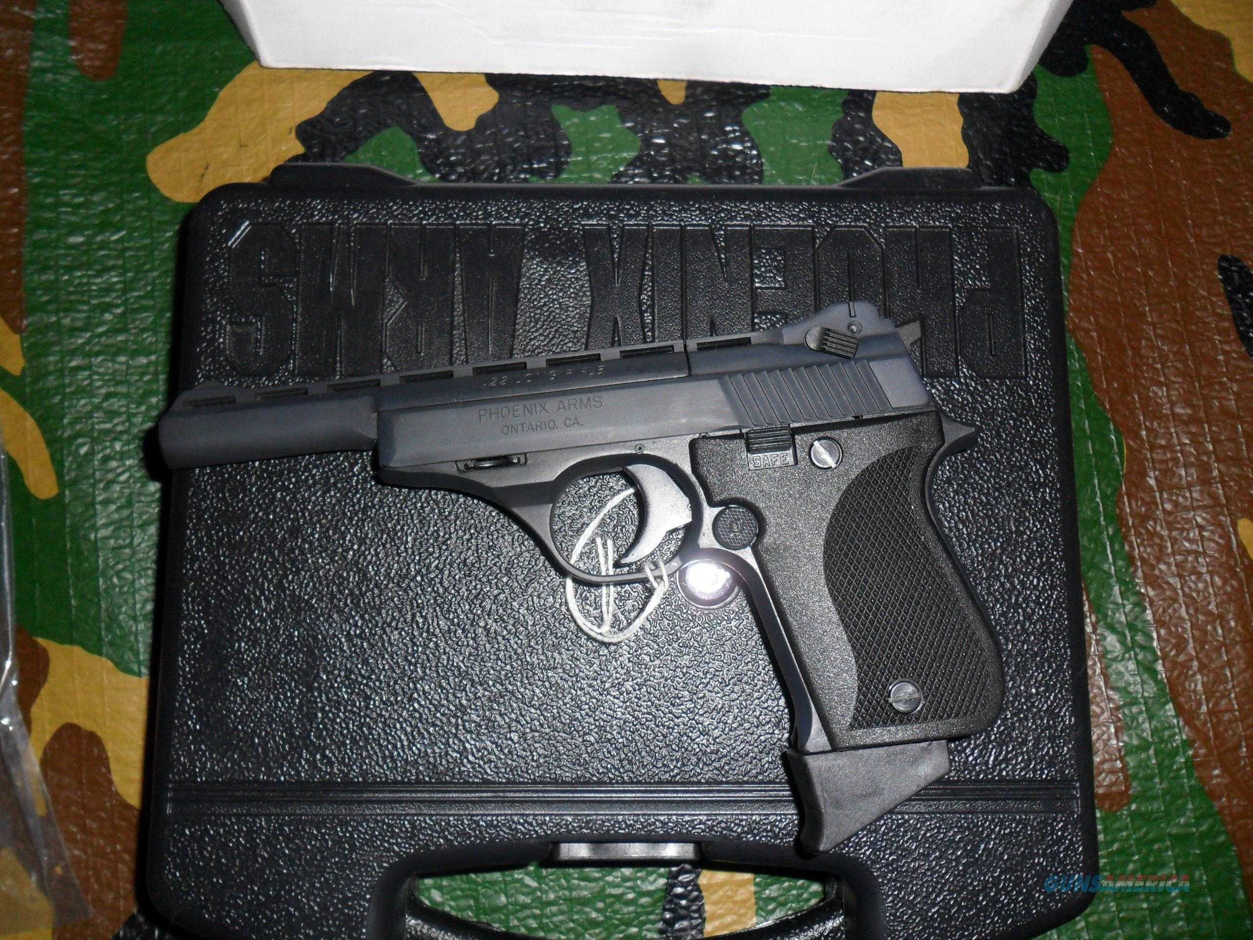 PHOENIX ARMS HP22A DELUXE RANGE KIT .22LR   Guns > Pistols > Phoenix Pistols