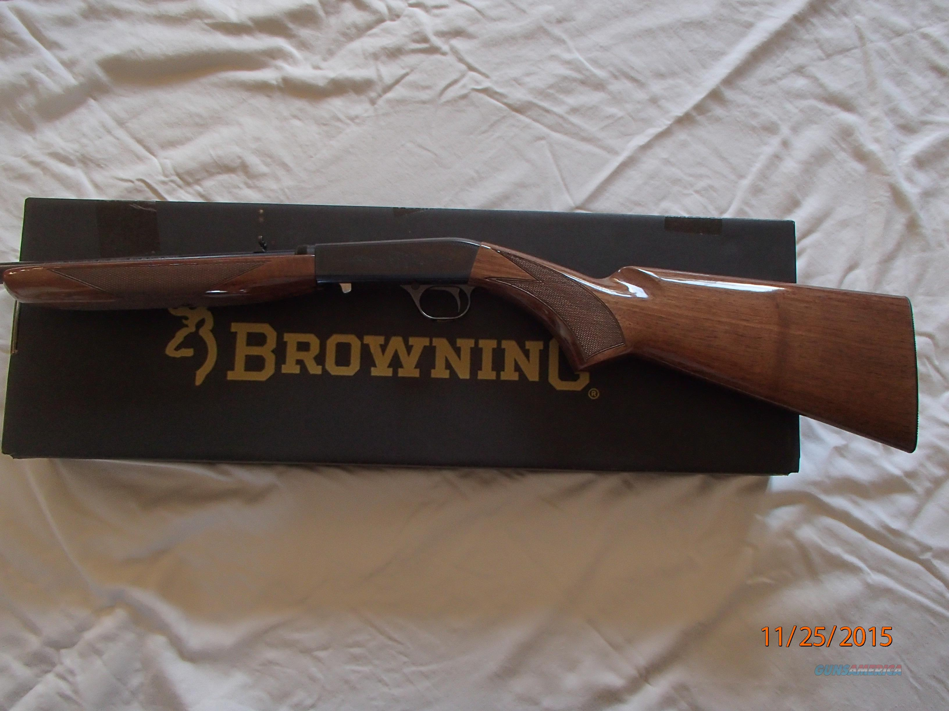 Browning 22 Auto .22 Long Rifle  Guns > Rifles > Browning Rifles > Semi Auto > Hunting