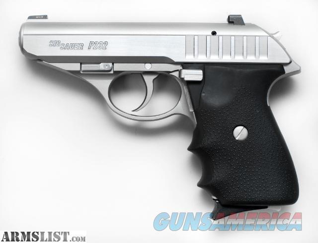 SELLING A *USED* P232 .380 !!!!  Guns > Pistols > Sig - Sauer/Sigarms Pistols > P232